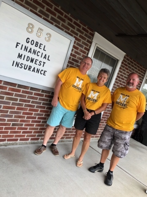 "Gobel Financial wears the color yellow for ""respect""!"