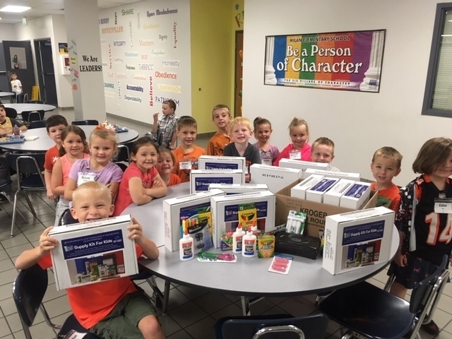 Community partner, Jac-C-Store, donates school supplies to MES!