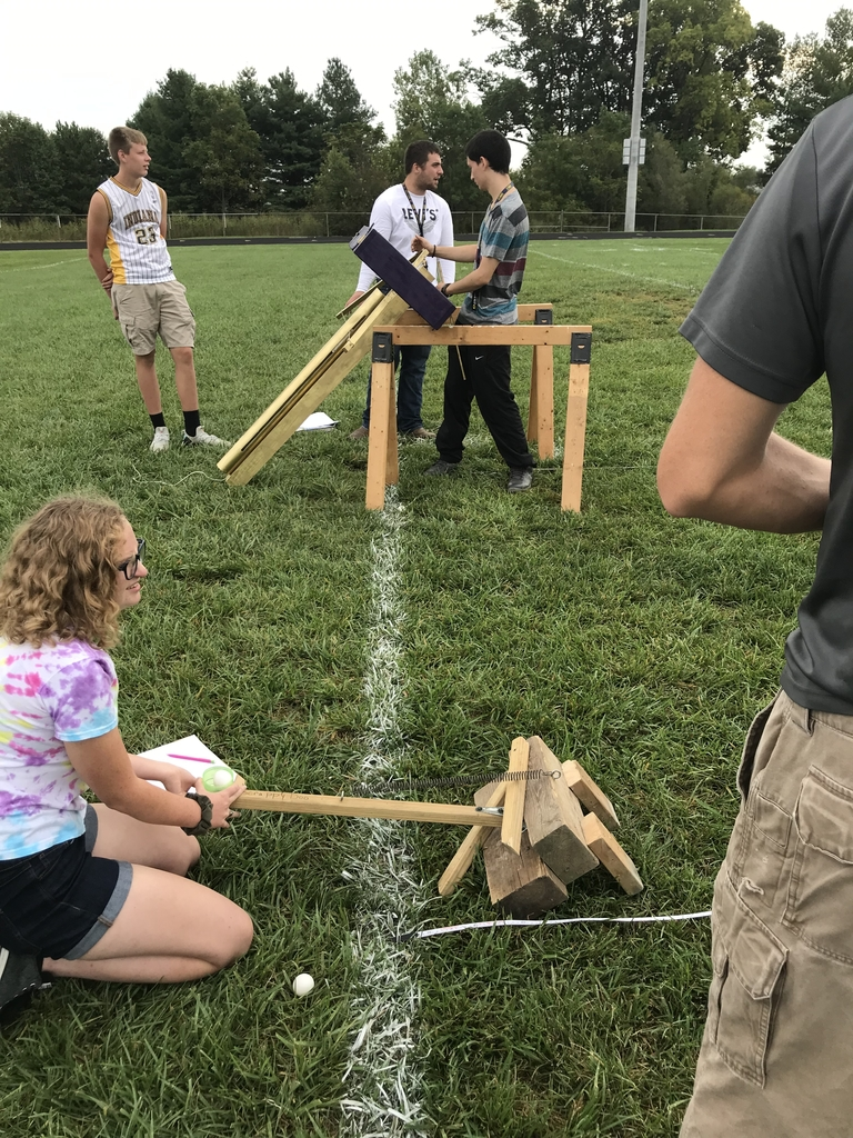 Mrs. JSS physics class....launching day!