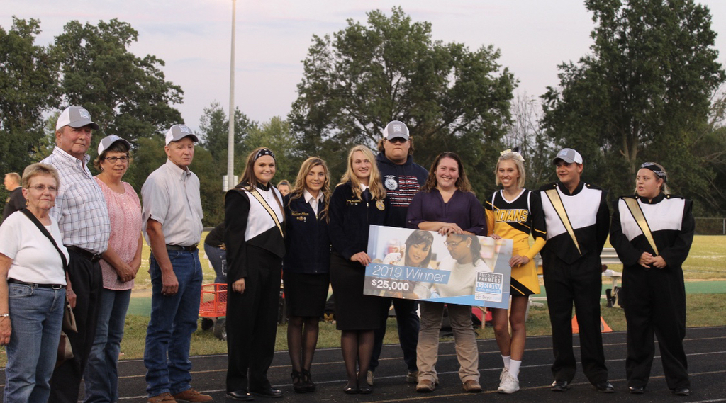 FFA receives check