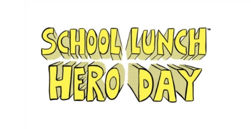 Lunch hero day sign